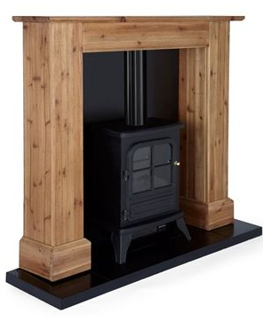 Ashdown Stove Suite - electric fire