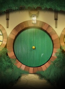 Bilbo Baggins' Door