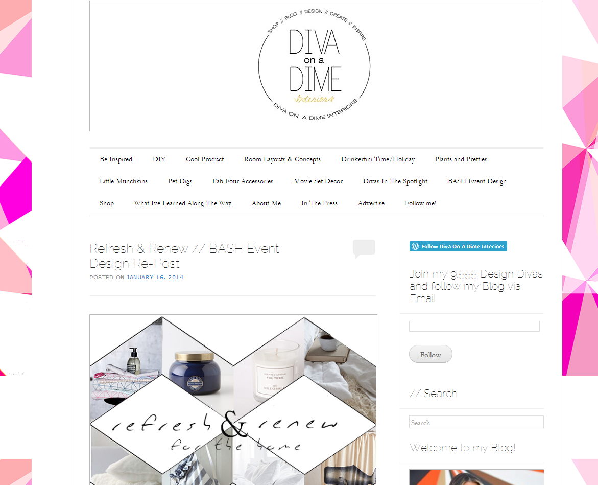 Picture of Diva on a Dime Interiors blog