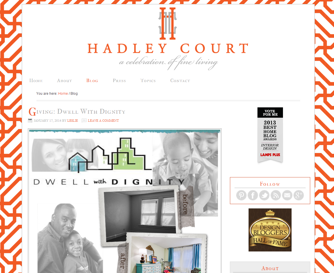 Picture of Hadley Court blog