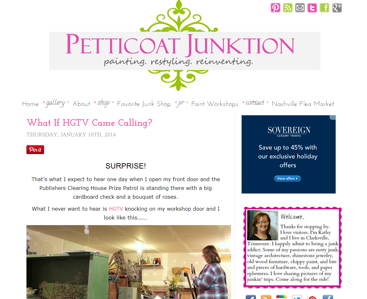Picture of Petticoat Junction blog