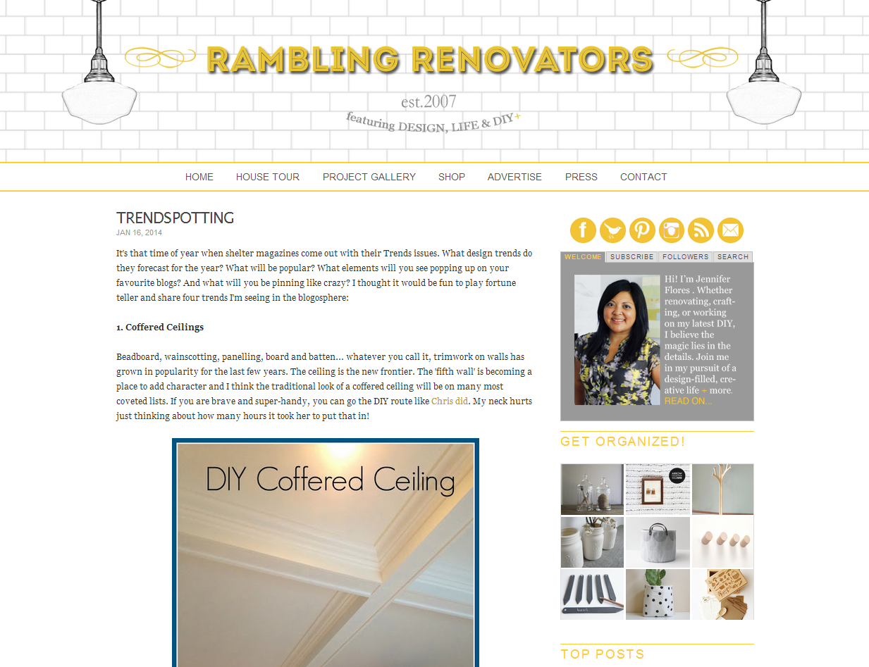 Picture of Rambling Renovators blog