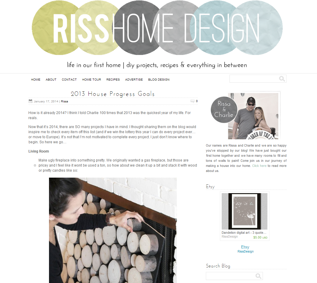 Picture of Riss Home Design blog