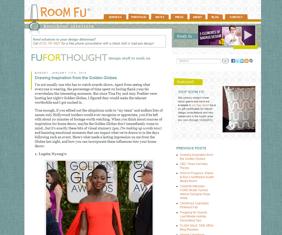 Picture of Room Fu blog