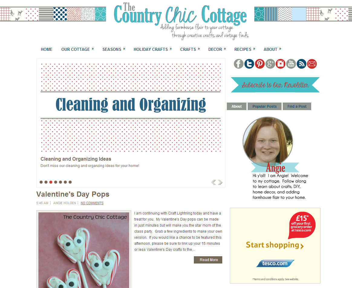 Picture of The Country Chic Cottage blog